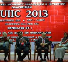 Events in 2013 (April December) Infrastructure University Innovation & Invention Competition 2013 On 11 September 2013, Infrastructure Unive r sit y Kua l a Lumpu r (I U KL), th rough its Resea rch