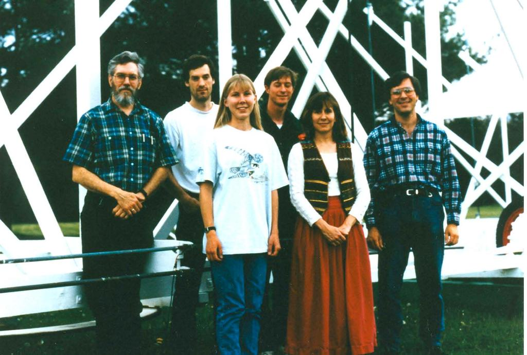 "The ""Jansky Fellers"", summer 1996."