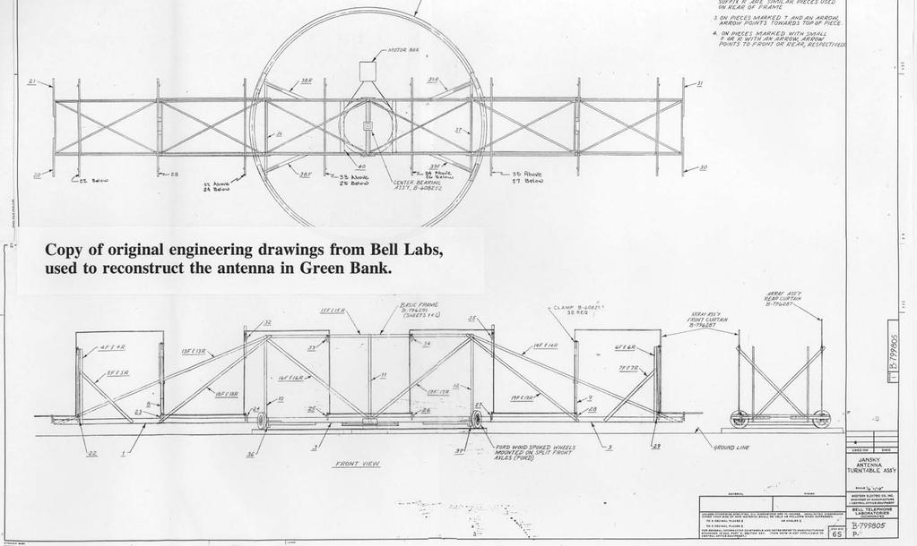Copies of the Drawings from Bell Labs, and Reber s
