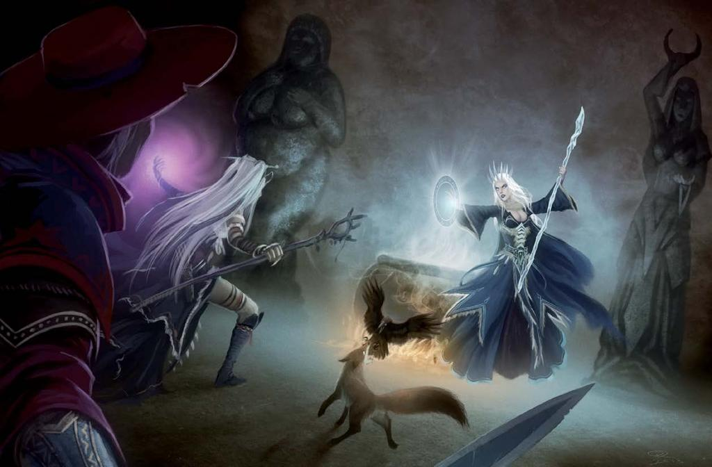 The Witch Queen s Revenge If the PCs choose to betray or attack Baba Yaga, their attempts are likely doomed to failure.