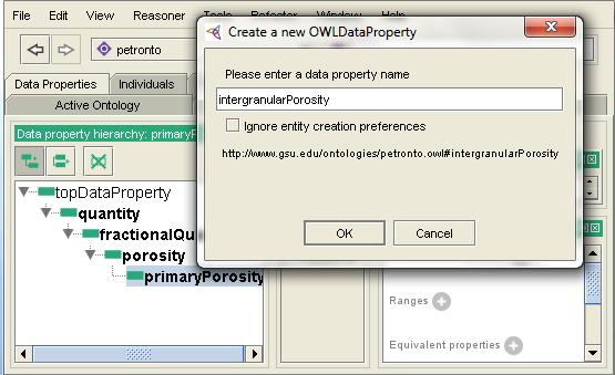 58 Add sub property button for creating sub property Sub property of the selected property being created Selected property Figure 6.16.