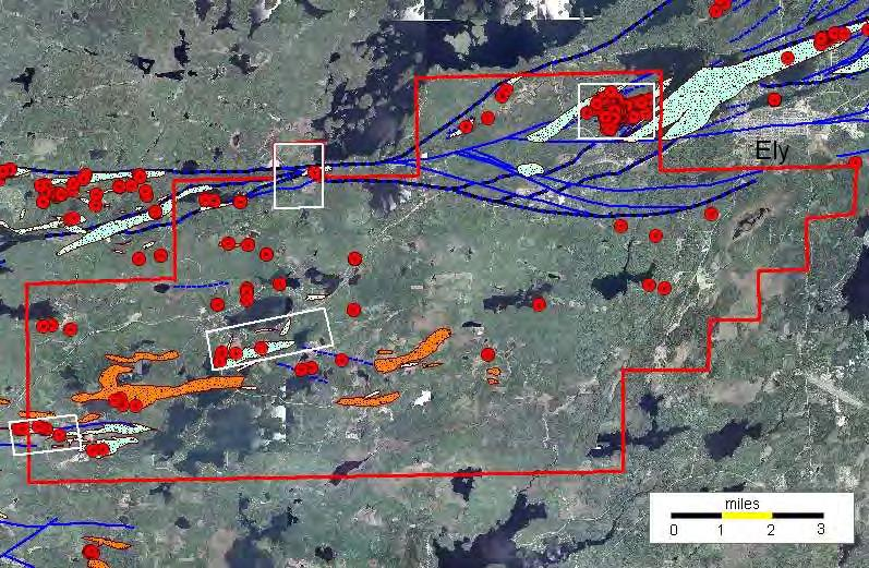 Alteration Zones Exploratory Bore Hole Geophysical Grid 2009 Lease Sale