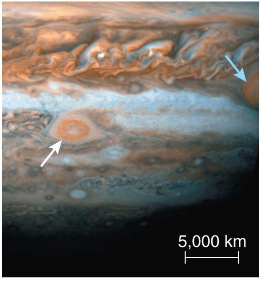 of different colors Jupiter s colors Ammonium sulfide clouds