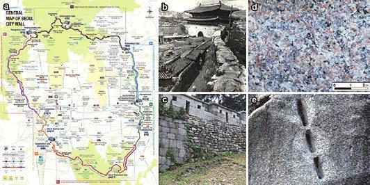 Chapter 4. Stone Heritage of the Republic of Korea blistering, and scaling of original rock and repair materials, all of which could be easily observed by the naked eye (Jo and Lee, 2014).