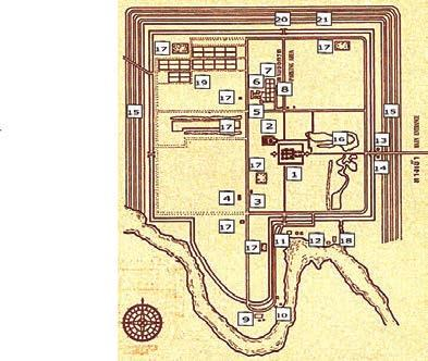 Chapter 8. Stone Heritage of Thailand Figure 20. Muang Sing Historical Park Plan (Fine Arts Department, 2013).