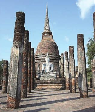 Stone Heritage of East and Southeast Asia Figure 26. The Historic Town of Sukhothai where the inscription was found. 3.