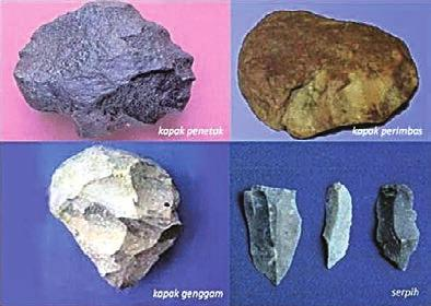 Stone Heritage of East and Southeast Asia an abundance of tools that appear to have originated from the Paleolithic age in the Baksoka riverbed and in a boulder conglomerate in the bank of the river,