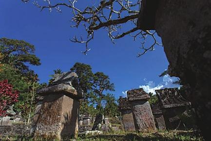 Stone Heritage of East and Southeast Asia Waruga is the grave or tomb of the ancestors of Minahasa.
