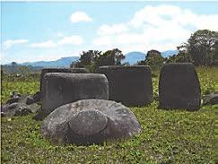 Central Sulawesi has some 1,451 statues from around 4000-3000 BC still in their natural sites scattered in the Napu Valley, Besoa Valley and Bada Valley in the District of North