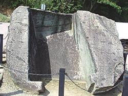 Chapter 3. Stone Heritage of Japan granite, namely the base section, cover and the portal.