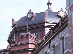 Stone Heritage of East and Southeast Asia Figure 39. The Ogatsu slate of the roof of Tokyo Station (left) and that of Shiogama Shrine (right) which was built in 1704 in Miyagi Prefecture (photos by H.