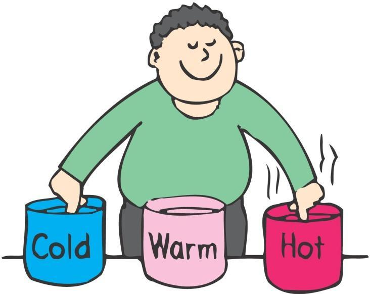 Temperature Temperature a number that corresponds to the warmth or coldness of an object