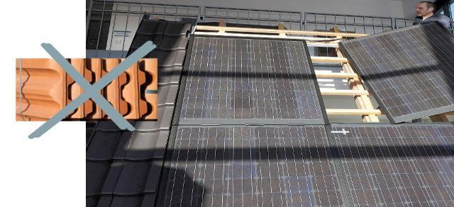 1 Installing solar cells on the roofs of building As for the installation of solar cells on the roofs of buildings, there are two ways, either the traditional way, as shown in the