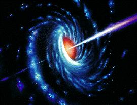 X-rays and gamma-rays are emitted from the area Radio-jets extend on