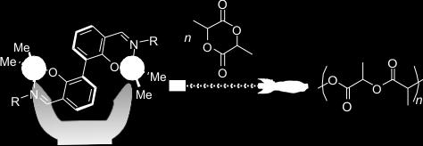 C15 DIUCLEAR CATALYSIS: ACCELERATED, METAL-DEPEDET RIG- PEIG PLYMERIZATI F LACTIDE E.