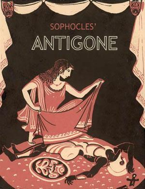 Antigone a tragedy written in 442 BC by Sophocles chronologically the third of the
