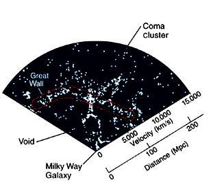 Strings, filaments, voids Reflect structure of the universe close to the Big