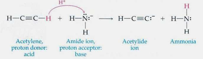 To accept a proton (H + ) from the hydronium ion, the base must have a free electron pair. When a proton leaves O + ion, H 2 O stays behind.