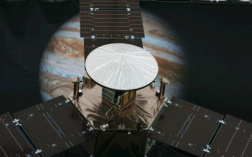 The solar-powered spacecraft is expected to reach Jupiter and go into orbit around the on it's way toward Jupiter for the closest encounter with the biggest