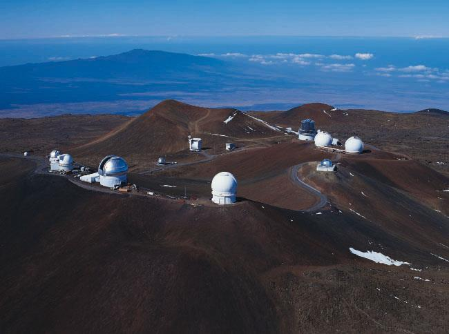 Summit of Mauna Kea, Hawaii Your eye s pupil is 5 millimeters in diameter.