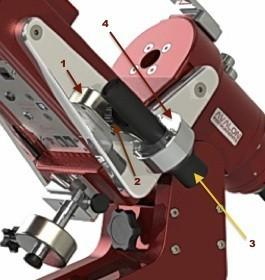 3 3.1 Accurate Polar Alignment Polar Alignment kit installation The mount precise polar alignment should be performed using the polar scope.