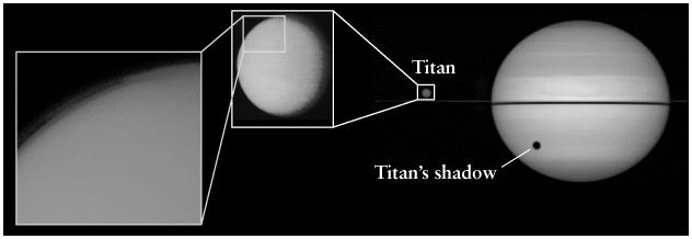 Titan data Second largest satellite in the Solar System 5,150 km