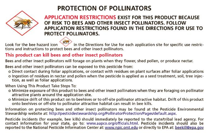PROTECTING POLLINATORS Here s a good example that illustrates toxicity and exposure. The active ingredient in household bleach (sodium hypochlorite) is toxic to humans.