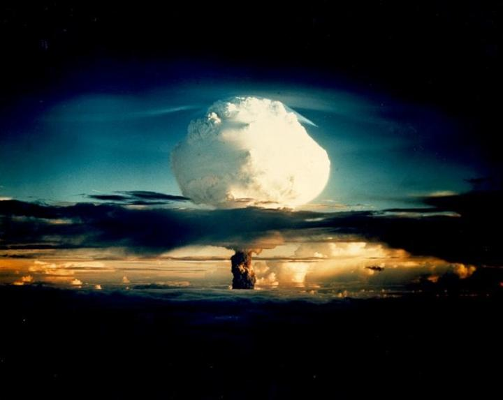 First thermonuclear reaction on Earth XX-11 IVY MIKE, was fired on Enewetak by the United States on