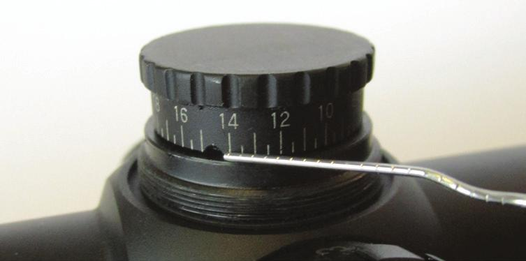 How To Use Your RT-6 Riflescope Eyepiece Focusing The eyepiece can be focused so that the reticle appears sharp and black to any individual s eye. Follow this procedure to quickly adjust the focus: 1.
