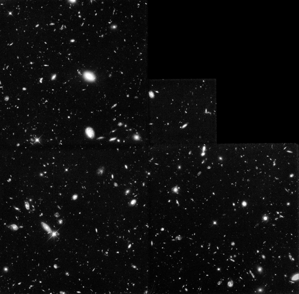 Hubble Deep Field Activity How Many Objects Are There? One of the questions astronomers ask is How many objects are there?