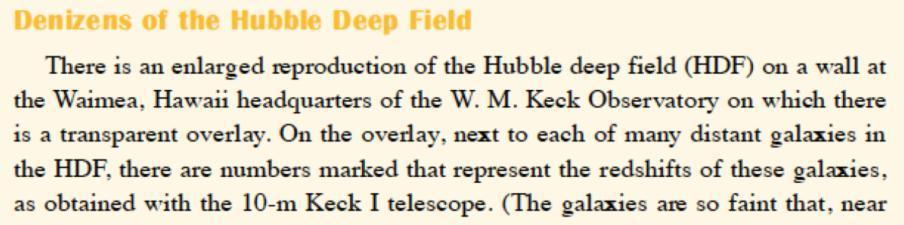 Changing how astronomy is done - The HDF image and the source catalogs were made public.