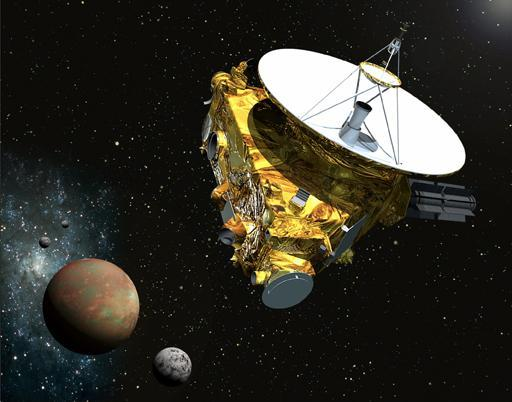 New Horizons credit: JHUAPL/SwRI Pluto: waiting for its spaceship to come