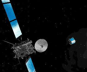 The future of cometary research: the Rosetta mission Launch: February
