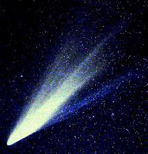 These icy comets are orbiting the Sun in two different places, both of which are very distant. One place is called the Oort cloud, and the other is called the Kuiper Belt.