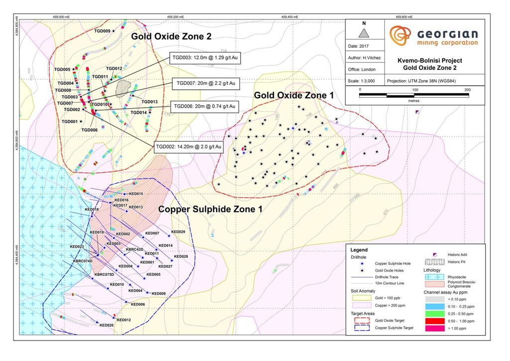 GEO Managing Director Greg Kuenzel said, Our exploration team has made rapid progress in advancing the Gold Zone 2 resource development program.