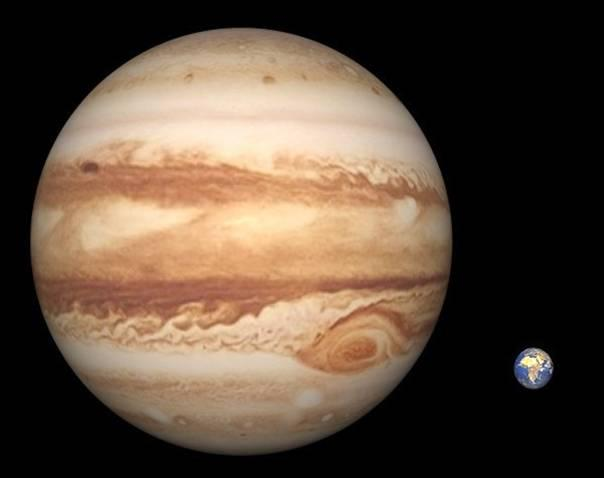 We learned the true sizes and composi:ons of the planets Jupiter s diameter is eleven