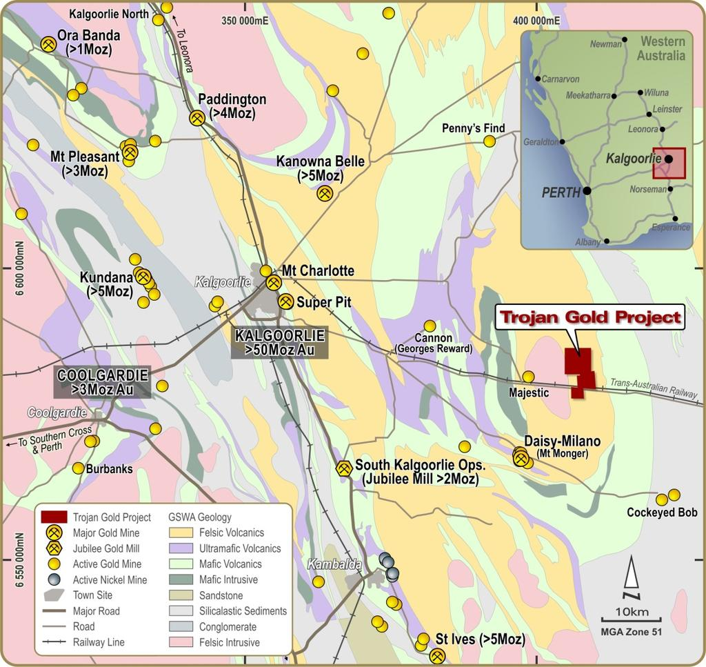 ABOUT OVERLAND RESOURCES Overland Resources controls two quality resource projects in two world-class mining districts, providing the Company exposure to potential near-term gold production in the