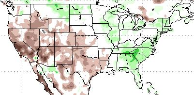 average precipitation Last 30 Days 30-day (ending 13