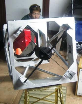 the center of the primary mirror by adjusting the actuators on the