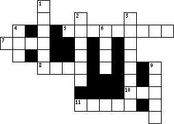 "11 ACROSS ""Then one of the four living creatures gave to the seven angels seven golden full of the wrath of God who lives forever and ever."