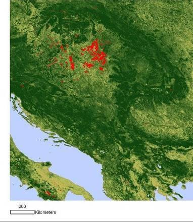 Slovak grassland sites (pure 3758 pixels) based