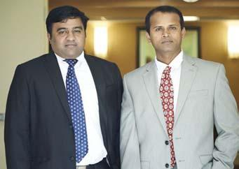 Reddy Left to Right : Ravi Potluri, Sreedhar Gudala Not in the Picture :