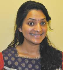 TADGV Youth Distinguished Service Award Recipient : Aparna Sagaram Aparna Sagaram has BS in public health from Temple University and she is pursuing MS from Thomas Jefferson and Widener Universities.