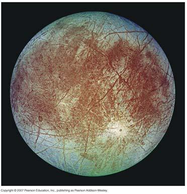 Galileo Orbiter Image of Europa Again, we would expect an