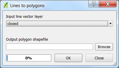 Creating a Polygon from Line Segments John O Brien, Salisbury University This technical note demonstrates the process of creating a polygon