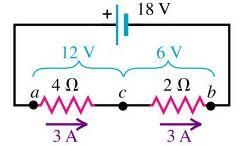 circuit of Step 1 is also 3 Amps with the voltage drop across the individual
