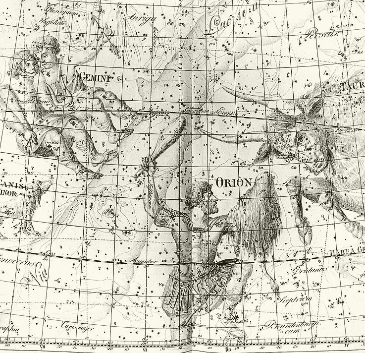 Ancient star maps were vividly