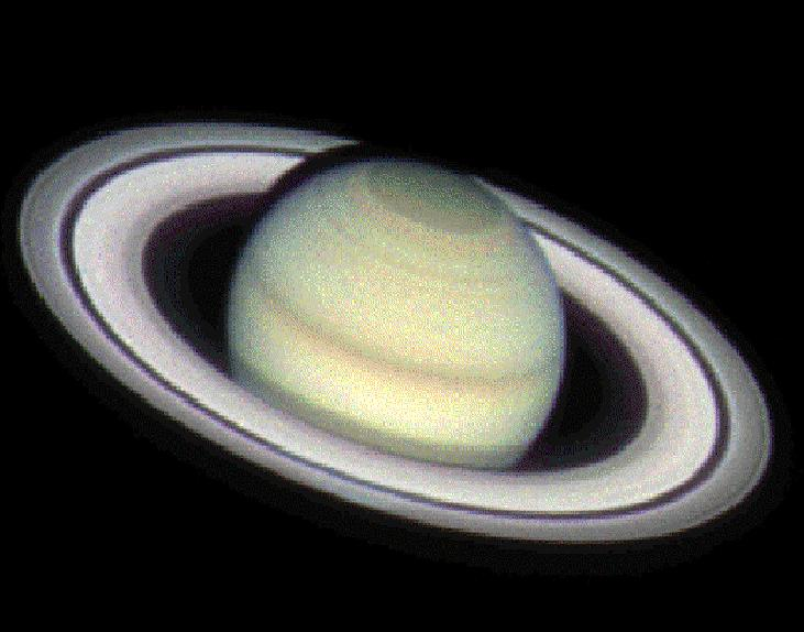 Saturn is the sixth planet from the sun in our Solar System.