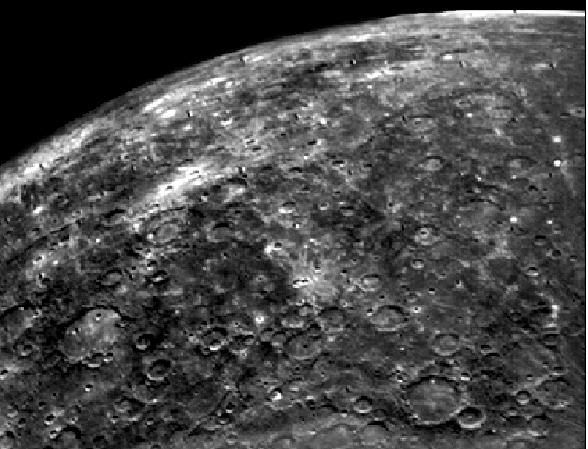 MERCURY Name Date 1. Circle the planet below that shows where Mercury is in order from the sun. 2.