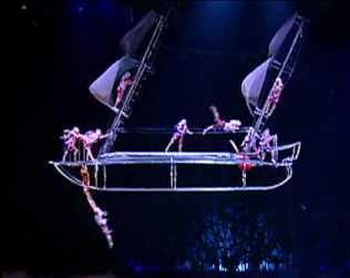 Final Exam Solution Dynamics 2 191157140 31-01-2013 8:45 12:15 Problem 1 Bateau Bateau is a trapeze act by Cirque du Soleil in which artists perform aerial maneuvers on a boat shaped structure.